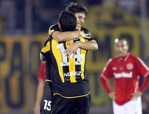 gol Peñarol x Internacional (Foto: Reuters)