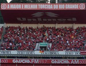 Torcida Internacional x Peñarol (Foto: Alexandre Alliatti / Globoesporte.com)