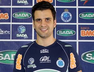 vôlei Cruzeiro Rogério Fernandes (Foto: Divulgação)