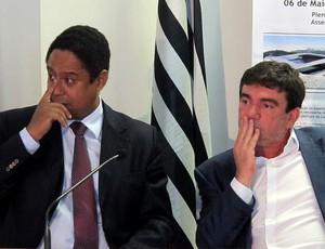 ANDRES SANCHES corinthians ORLANDO SILVA ministro dos esportes assembleia legislativa (Foto: Leandro Canônico / Globoesporte.com)
