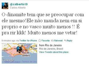 carlos alberto twitter (Foto: Reprodução/Twitter)