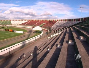 Estádio Joia da Princesa (Foto: Reprodução TV Bahia)