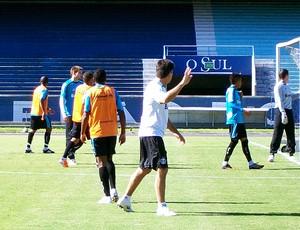 Renato Gaúcho rachão Grêmio (Foto: Eduardo Cecconi / Globoesporte.com)