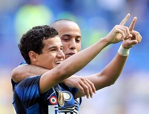 Philipe Coutinho gol Inter de Milão (Foto: AFP)