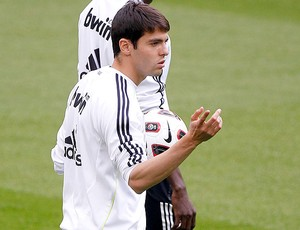 Kaká no treino do Real Madrid (Foto: EFE)