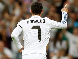 cristiano ronaldo real madrid x getafe (Foto: Reuters)