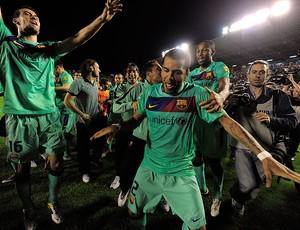 Barcelona faz festa do título em jogo que vale muito para o La Coruña (AFP)