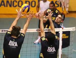 seleção brasileira vôlei  giba (Foto: Alexandre Arruda/CBV)