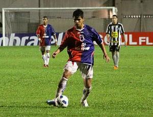 Lima, lateral-esquerdo do Paraná Clube (Foto: Divulgação / Paraná Clube)