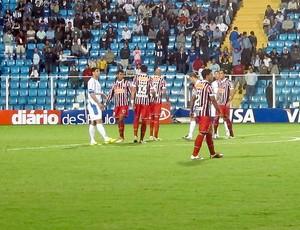Avaí x São Paulo (Foto: Marcelo Prado / Globoesporte.com)