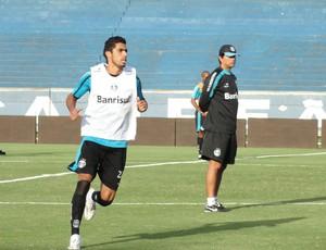 Vilson, zagueiro do Grêmio (Foto: Eduardo Cecconi/Globoesporte.com)