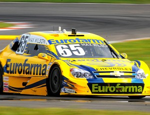 Max Wilson acelera em Nova Santa Rita (Foto: Fernanda Freixosa / Stock Car)