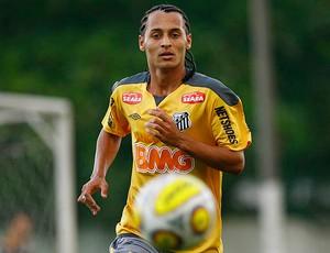 alan patrick santos treino (Foto: Ricardo Saibun / Site Oficial do Santos)