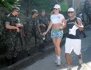 corrida da Paz no morro do Alemão (Foto: André Durão / GLOBOESPORTE.COM)
