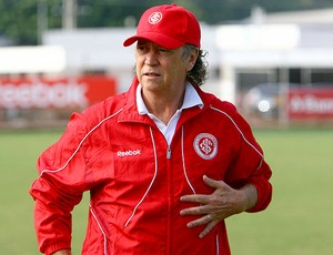 Falcão no treino do Internacional (Foto: Lucas Uebel / VIPCOMM)