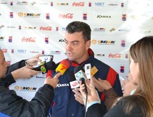 Ricardo Pinto, técnico do Paraná Clube (Foto: Jairton Conceição/RPC TV)
