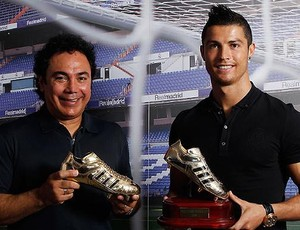 Hugo Sanchez Cristiano Ronaldo Real Madrid (Foto: Site Oficial do Clube)