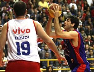 basquete NBB guilherme giovanonni brasília Drudi franca (Foto: Célio Messias / Divulgação)