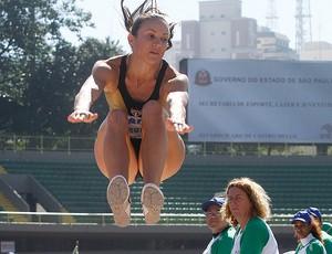 Maurren Maggi GP brasil de atletismo (Foto: Ag. Estado)