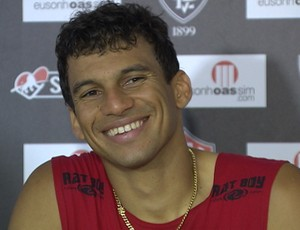 Neto Baiano atacante do Vitória (Foto: Reprodução)