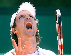Ricardo Mello tênis Roland Garros 1r (Foto: AP)