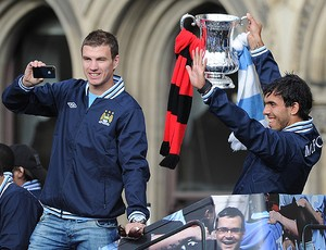 manchester city tevez (Foto: Getty Images)