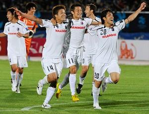 Daisuke Takahashi cereso osaka contra Gamba Osaka (Foto: agência AFP)