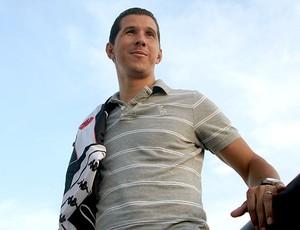 Fabiano Eller durante entrevista especial sobre o Petkovic (Foto: Pedro Veríssimo / Globoesporte.com)