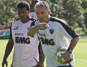 Guilherme Santos e Dorival Jr Atlético-MG (Foto:  - Bruno Cantini / Site Oficial do Atlético)