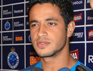 leo cruzeiro   (Foto: Fernando Martins/Globoesporte.com)