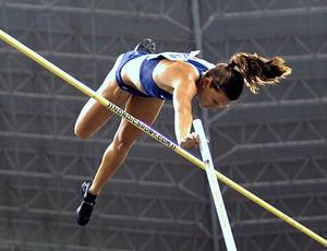 Fabiana Murer no GP de atletismo (Foto: Jorge Wiliam / Agência O Globo)