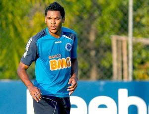 Brandão no treino do Cruzeiro (Foto: Washington Alves / VIPCOMM)