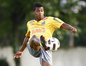 Alex Sandro, do Santos (Foto: Flickr do Santos)