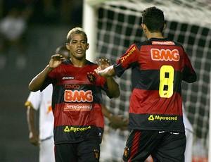 Marcelinho Paraíba gol Sport (Foto: Ag. Estado)