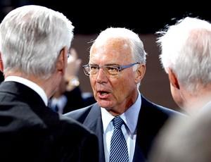 Franz Beckenbauer durante o congresso da Fifa (Foto: Getty Images)