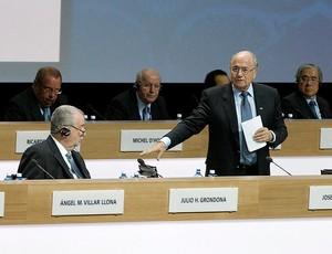 joseph blatter congresso fifa zurique suíça (Foto: agência Reuters)