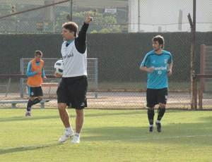 Renato Gaúcho no treino do Grêmio (Foto: Eduardo Cecconi/Globoesporte.com)