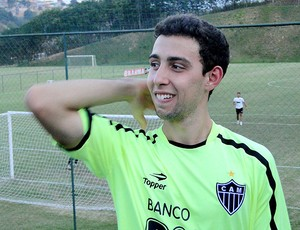 Fillipe Soutto treino Atlético-MG (Foto: Valeska Silva / Globoesporte.com)