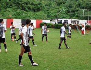 treino do vitória no barradão (Foto: Eric Luis Carvalho/GLOBOESPORTE.COM)