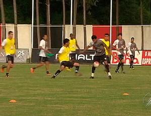 treino vitória na toca do leão (Foto: Reprodução/TV Bahia)