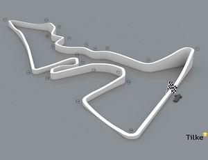 circuito austin texas eua  (Foto: Tilke.com)