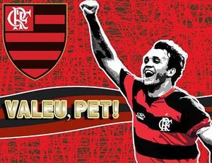 Bandeira Petkovic (Foto: Site Oficial do Flamengo)