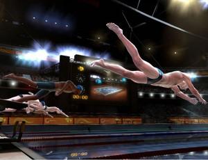 Michael Phelps videogame (Foto: Divulgação)