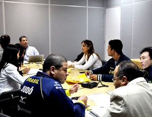 Comissão técnica de Judô (Foto: Divulgação / CBJ)