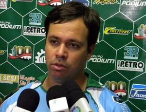 Dado Cavalcanti, técnico do Icasa (Foto: Divulgação)