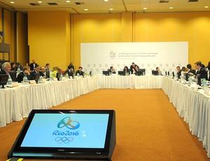 encontro do COI para o Rio 2016 (Foto: André Durão / GLOBOESPORTE.COM)