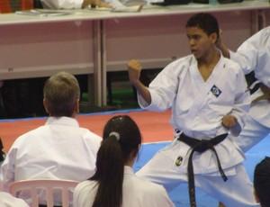 Atleta  Diego Henrique Monteiro, ouro em três categorias (Foto: Assessoria)
