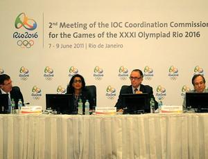 Carlos Nuzman durante encontro do COI (Foto: André Durão / GLOBOESPORTE.COM)