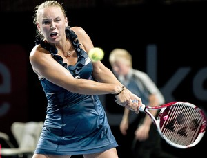 Caroline Wozniacki tênis Copenhague 1r (Foto: EFE)