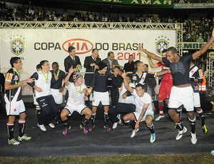 Vasco taça copa do Brasil (Foto: André Durão / Globoesporte.com)